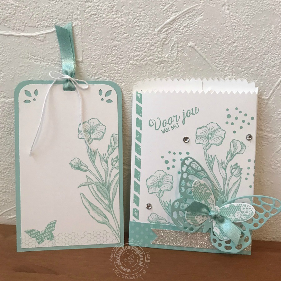 Koffie met Kaart week 15/2018 – Butterfly Basics gift card holder