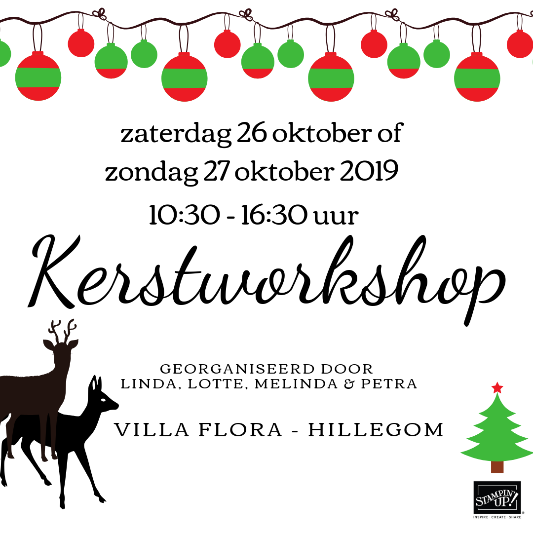 Superleuke kerstworkshop