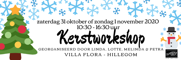 It giet oan! – Kerstworkshop 2020