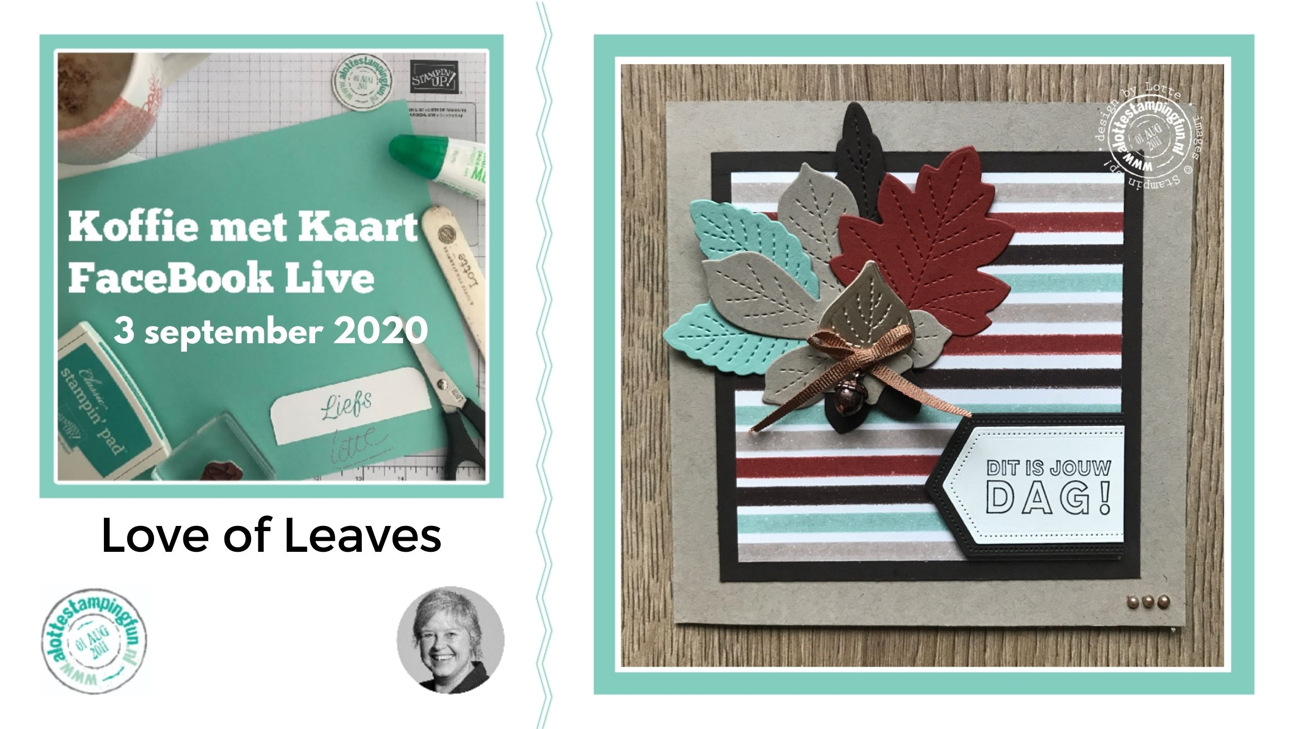 Love of Leaves – Koffie met Kaart 3 september