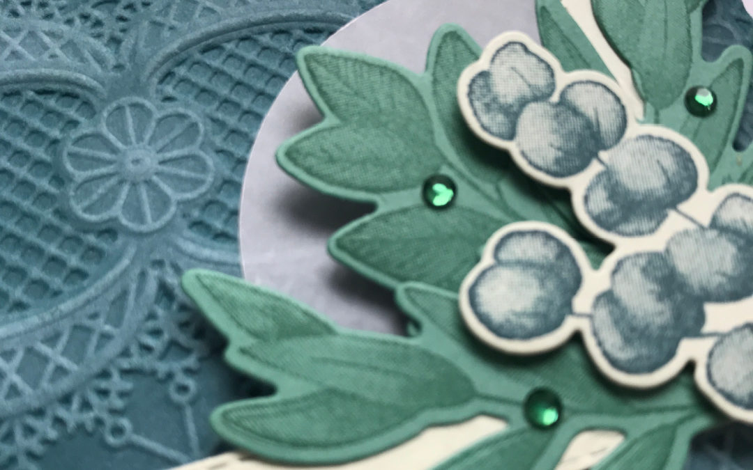 3D Lace embossing kaart – Stempel, Inkt & Papier bloghop