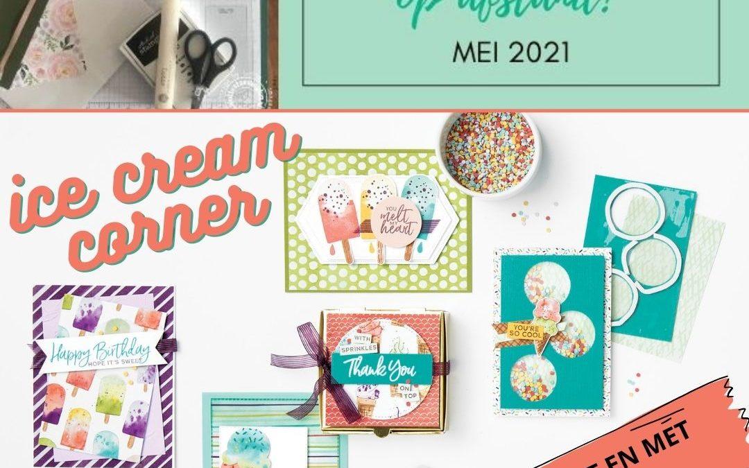 Koffie met Kaart Mei 2021 – Ice Cream Corner