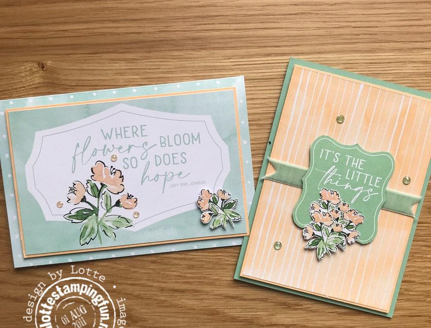 Hand Penned Memories & More kaarten – Feel Good Stampin' Blog Hop