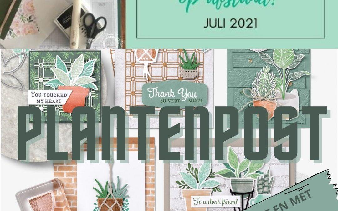 Koffie met Kaart op Afstand juli 2021 – Plantenpost