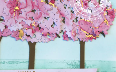 Cherryblossoms met Inspiring Canopy – Feel Good Stampin' Bloghop – Buiten
