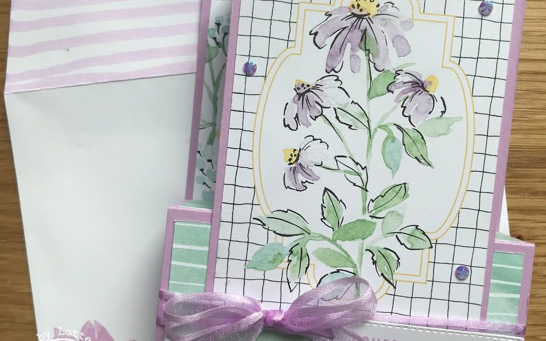 Hand Penned Memories&More Cards Pop Up Fun Fold Card