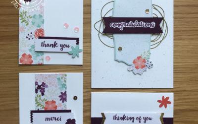Petal Notes card kit alternatieven