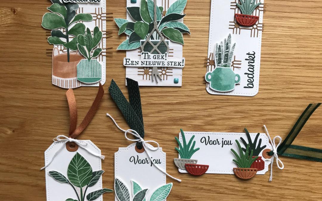Plantenpost Cadeau Labels