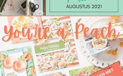 Koffie met Kaart op Afstand Augustus: You're a Peach!