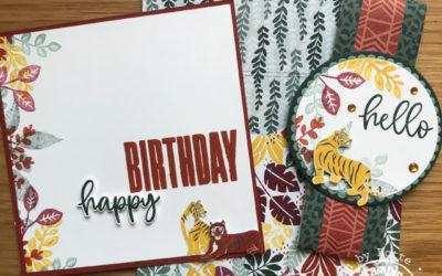 Designer Series Paper Envelop met kaart