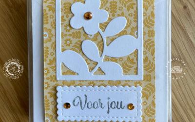 Snel cadeautje met kant en klare verpakking van Stampin' Up! – Stempel, Inkt & Papier Bloghop