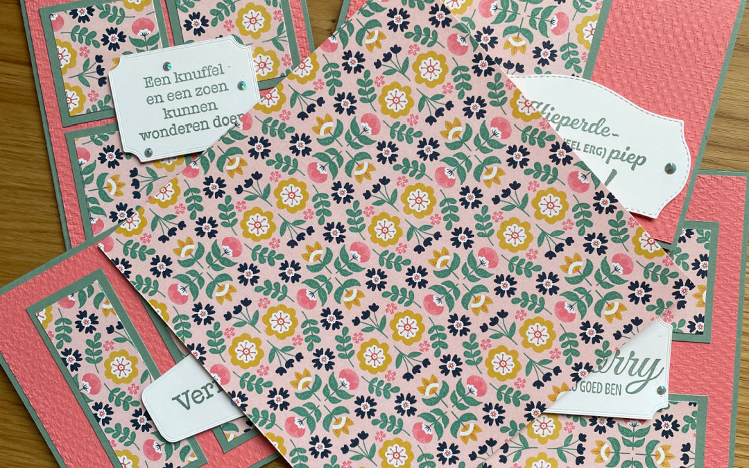 One Sheet Wonder met Sweet Symmetry